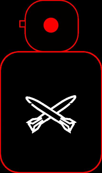 LED-Key-Chain-MERC-ohne-Gravur