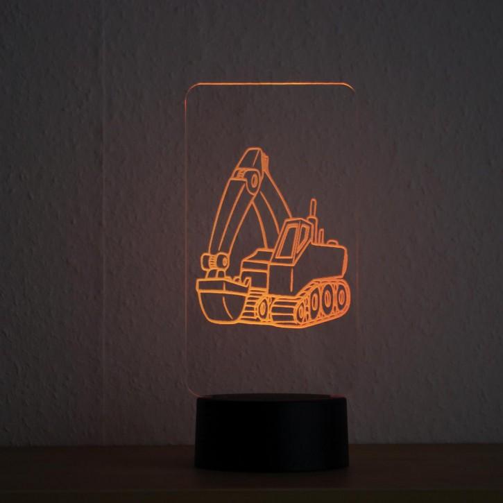 LED-Lampe-Motiv-Bagger_1