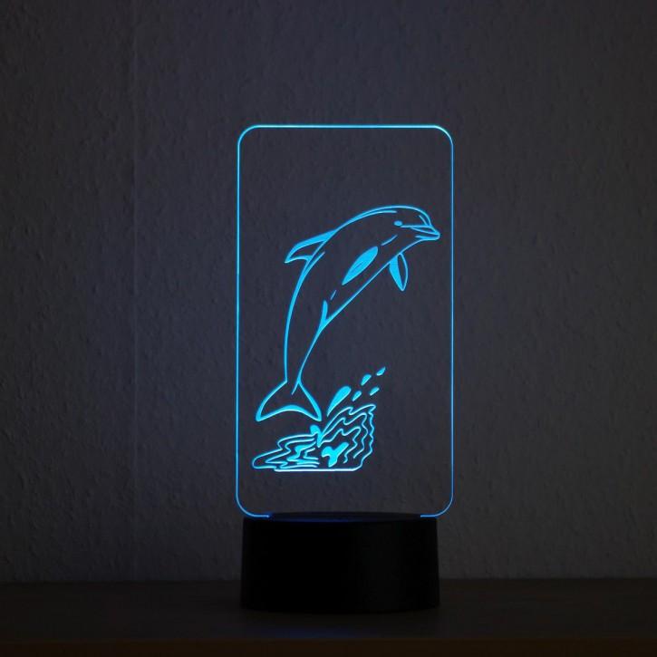 LED-Lampe-Motiv-Delfin_1