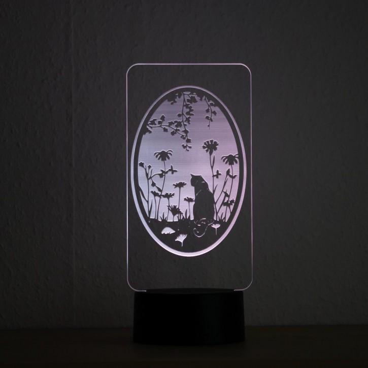 LED-Lampe-Motiv-Katze_1