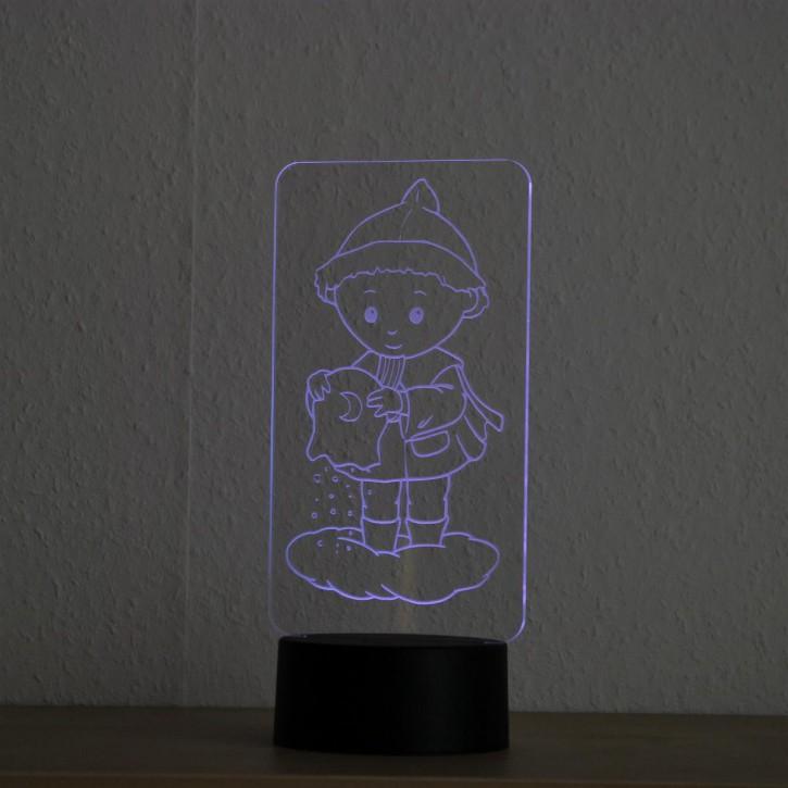 LED-Lampe-Motiv-Sandmann