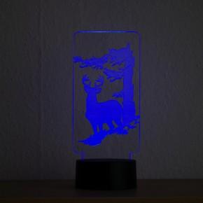 LED-Lampe-Motiv-Hirsch_1