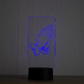LED-Lampe-Motiv-BetendeHaende